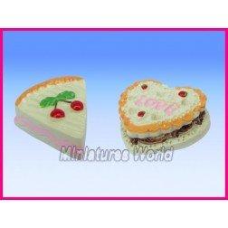 2 parts de gâteau en résine – CK10