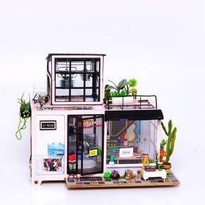 Maisons de poupées et vitrines, Kits DIY
