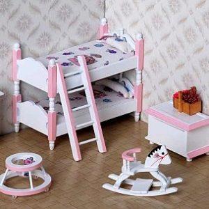 La chambre des enfants et bébés