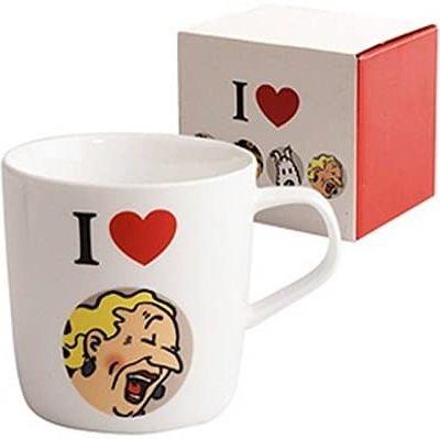 Tintin – Mug tasse I Love Castafiore