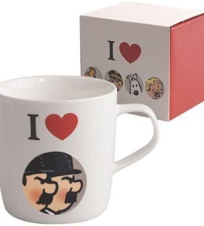 Tintin – Mug tasse I Love Dupont et Dupond
