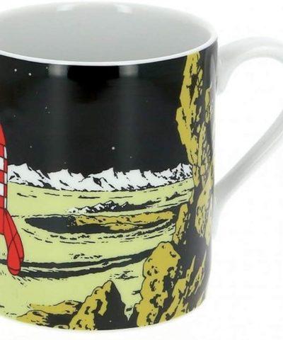 Tintin – Mug tasse la fusée sur la lune