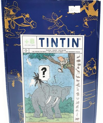 Tintin – Puzzle 140 pièces modèle épuisé collector