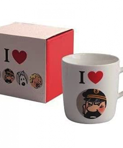 Tintin – Mug tasse I Love Haddock