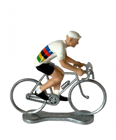 Cycliste Bernard et Eddy –  Champion du Monde