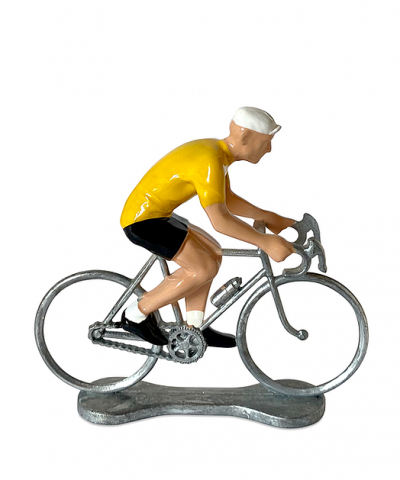 Cycliste Bernard et Eddy – Leader du Tour de France