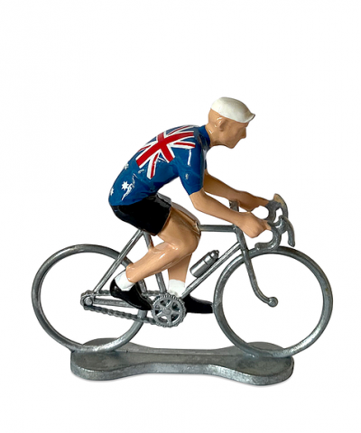 Cycliste Bernard et Eddy – Champion d'Australie