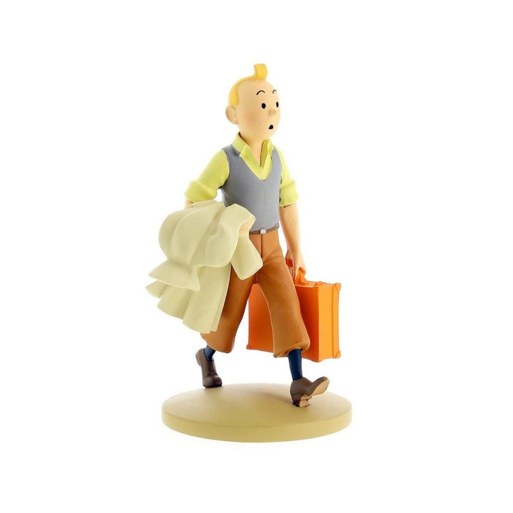 Tintin en route