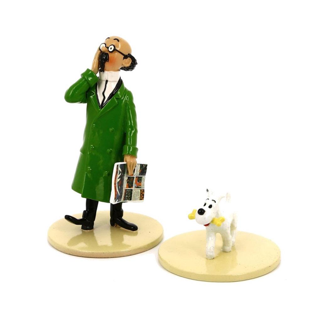 Lisez Tintin – Tournesol et milou