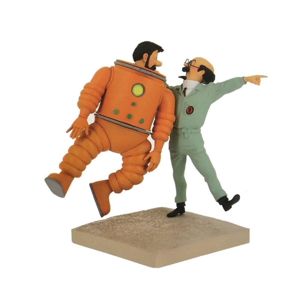 Objectif Lune – Haddock et Tournesol