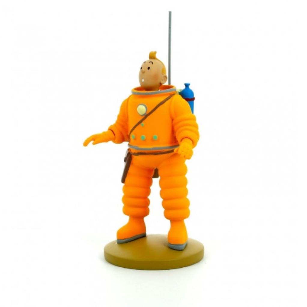 Tintin cosmonaute