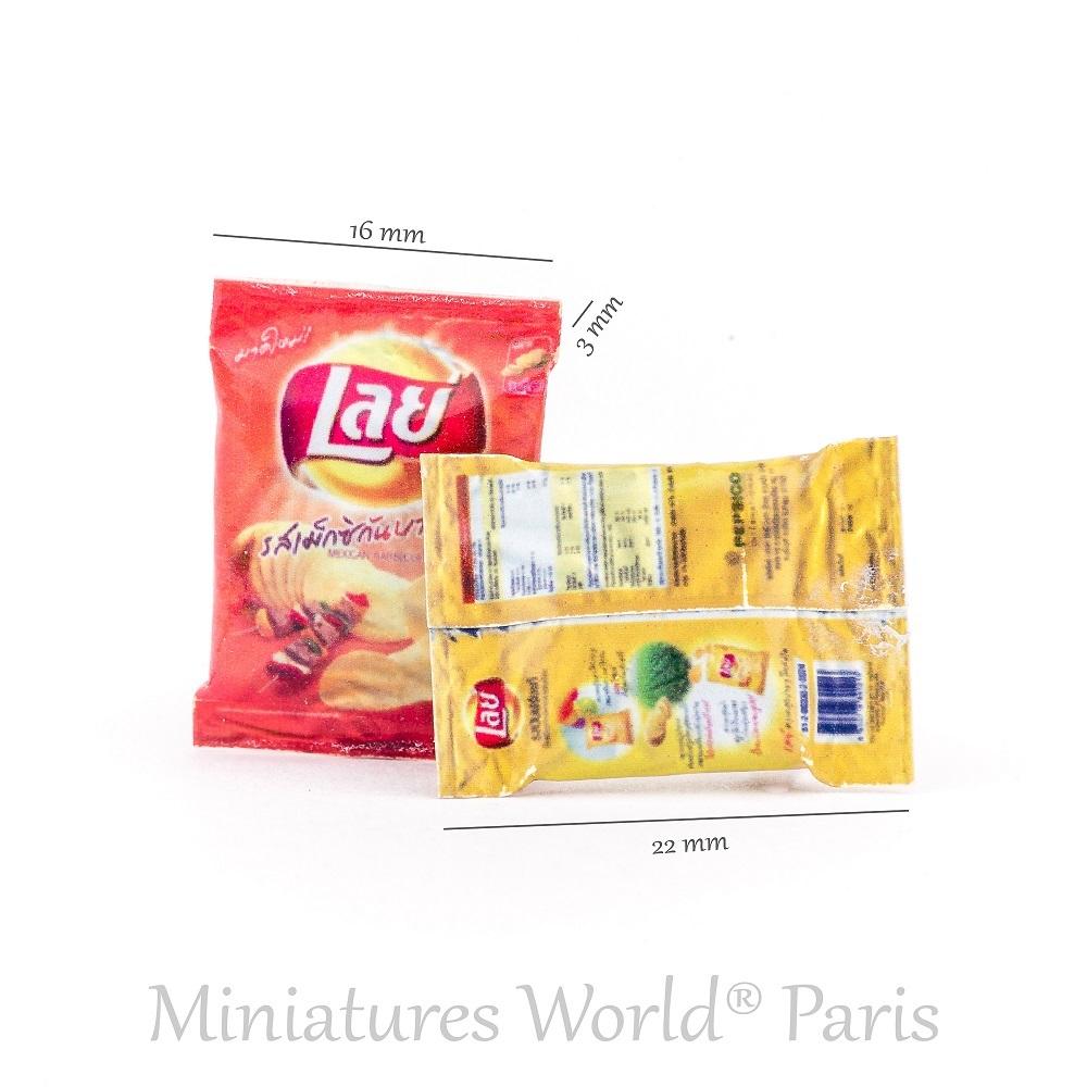 2 Paquets de chips