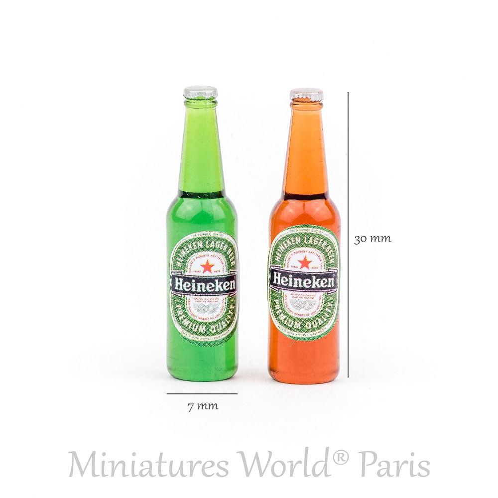 2 bouteilles de bière