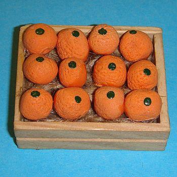 Cageot en bois d'oranges – 786/243