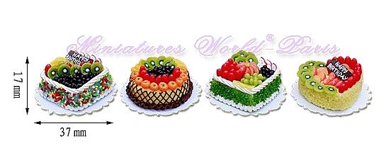 4 gâteaux faits main – MW136