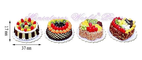 4 gâteaux faits main – MW137