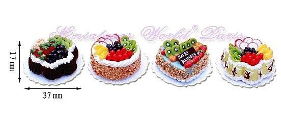 4 gâteaux faits main – MW138