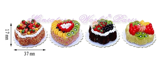 4 gâteaux faits main – MW139